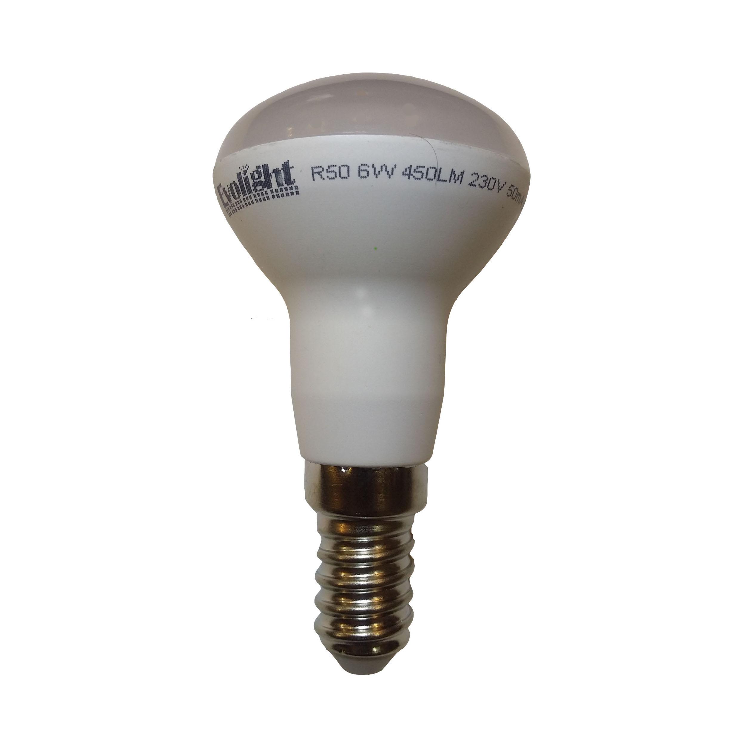 لامپ ال ای دی 6 وات مدل R50 پایه E14