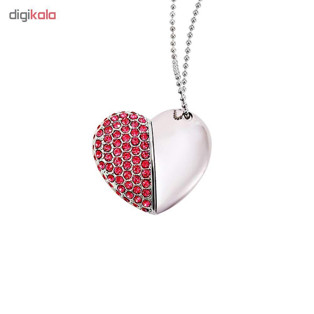 فلش مموری مدل heart6004 ظرفیت 16 گیگابایت main 1 14