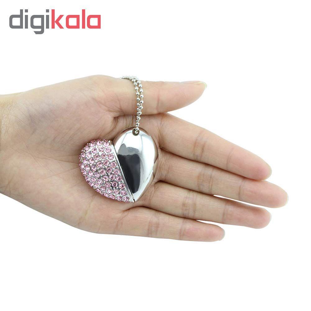 فلش مموری مدل heart6004 ظرفیت 16 گیگابایت main 1 8