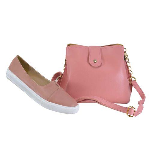 ست کیف و کفش زنانه کد SE051-06