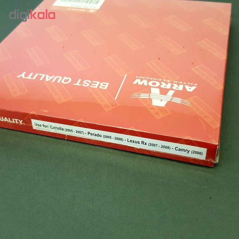 فیلتر کابین خودرو آرو کد 28010 مناسب برای تویوتا کرولا و کمری و پرادو و لکسوس RX main 1 4