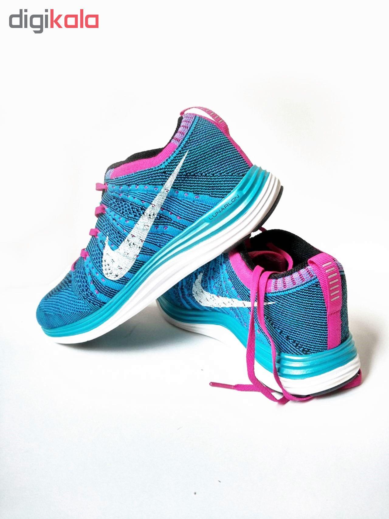 کفش مخصوص پیاده روی زنانه نایکی مدل Nike Flyknit Lunar