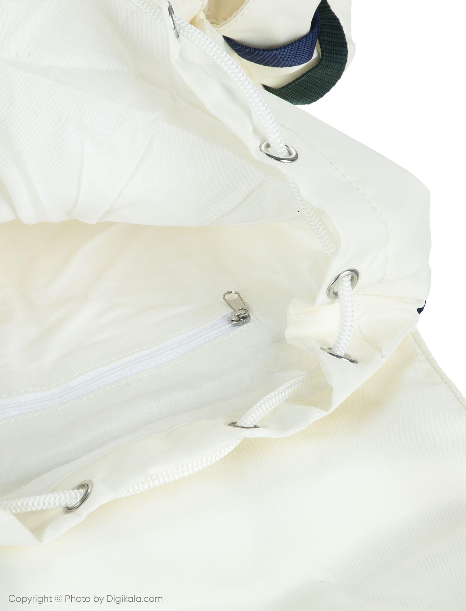 کوله پشتی روزمره مردانه - مانگو - سفید - 5