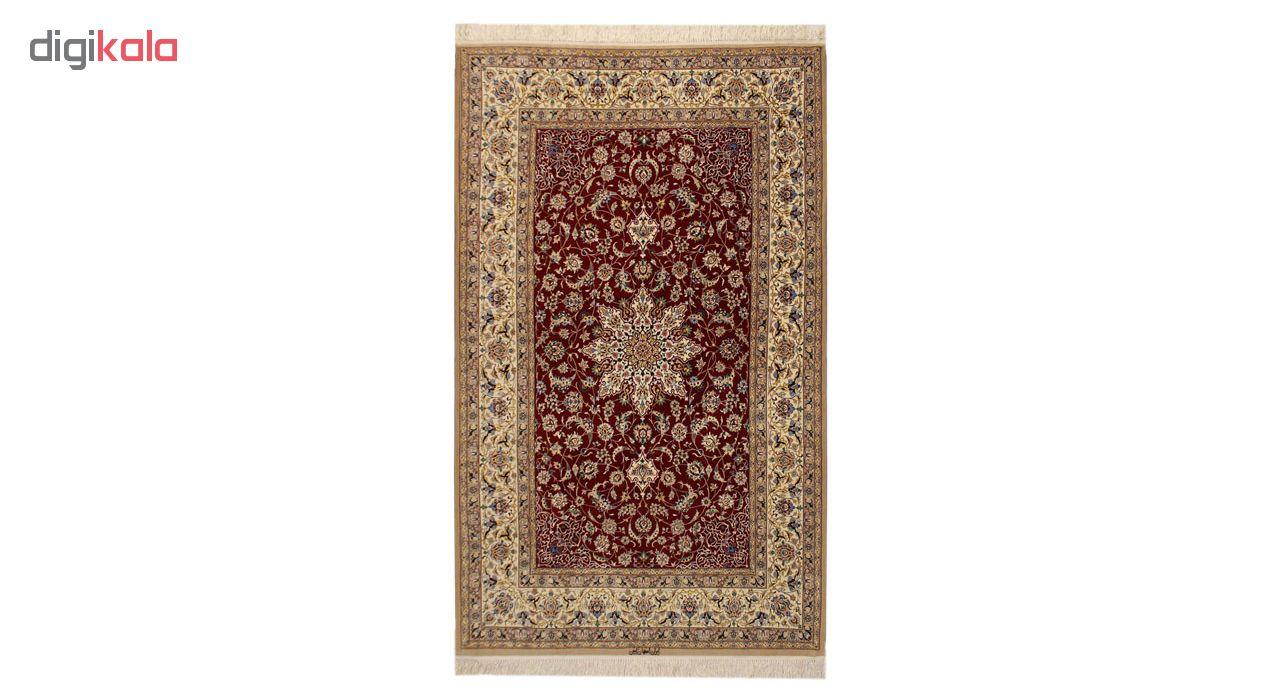 فرش دستبافت سه و نیم متری اصفهان ابتین کد 1105648