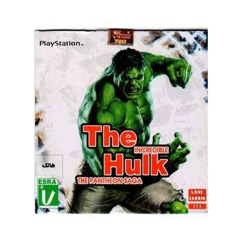 بازی THE HULKمخصوص PS1