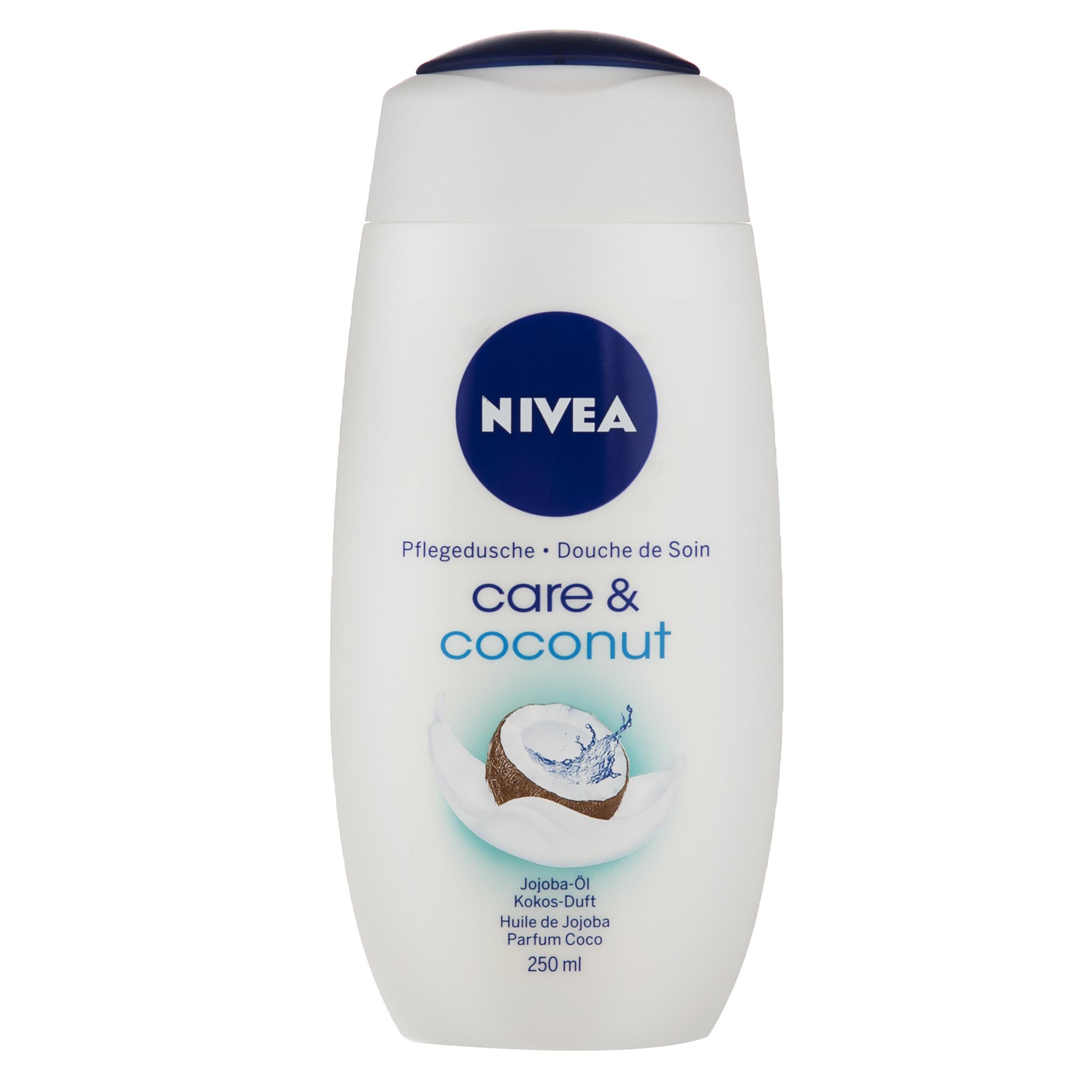 شامپو بدن نیوآ مدل Cream Coconut حجم 250 میلی لیتر