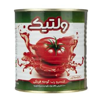 کنسرو رب گوجه فرنگی ولتیک 800 گرم