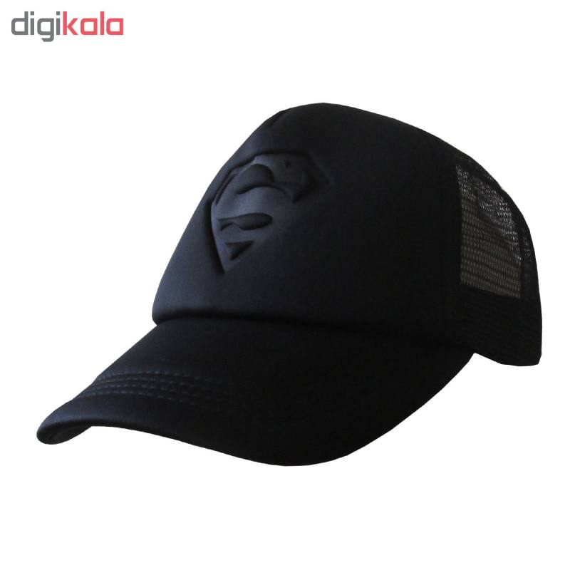 کلاه کپ مردانه طرح Super Man کد 20249