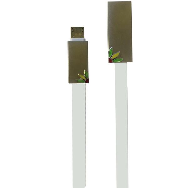 کابل تبدیل USB به microUSB رومن مدل RC-6 طول 1 متر