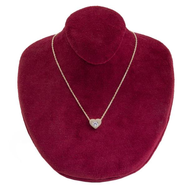 گردنبند طلا 18 عیار زنانه جواهرات ژوپی یر مدل JH14