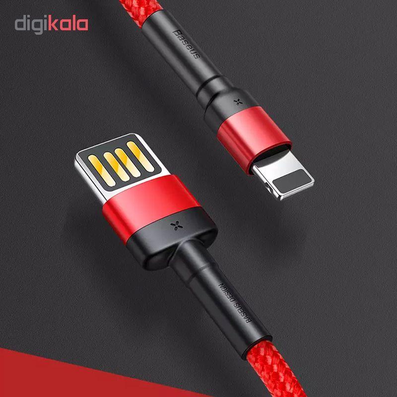 کابل تبدیل USB به لایتنینگ باسئوس مدل CA-100  طول 1 متر main 1 1