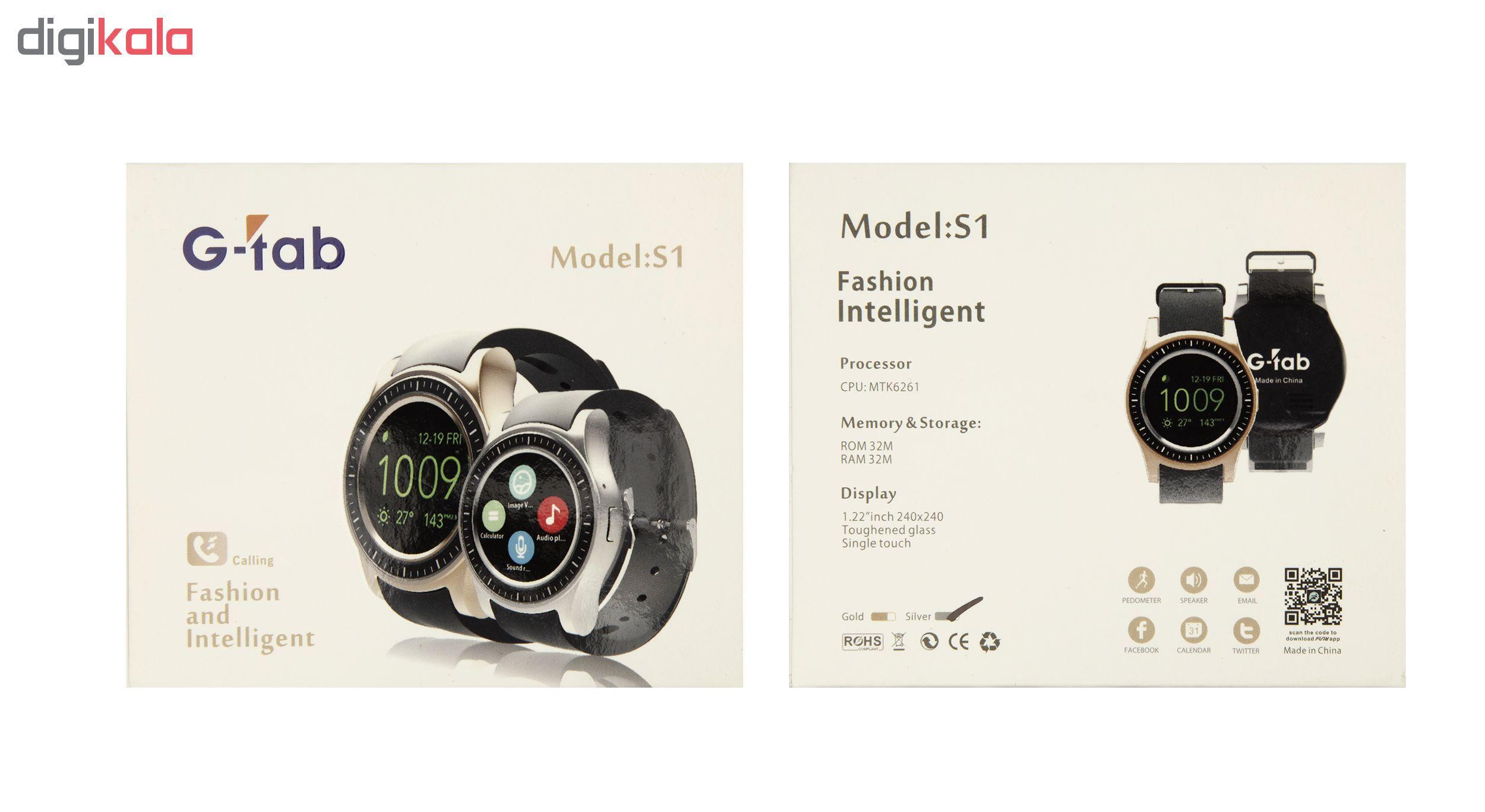 ساعت هوشمند جی تب مدل S1 main 1 11