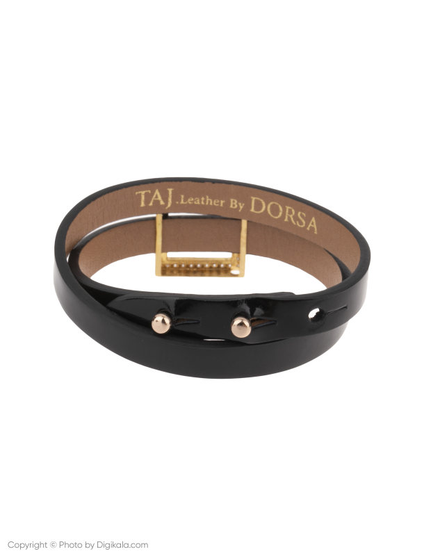 دستبند طلا 18 عیار زنانه تاج درسا مدل 559