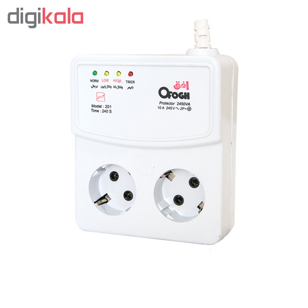 خرید اینترنتی محافظ ولتاژ افق کد 3-201 اورجینال
