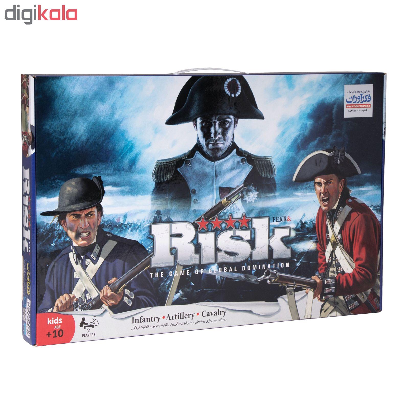 بازی فکری فکرآوران مدل ریسک main 1 1