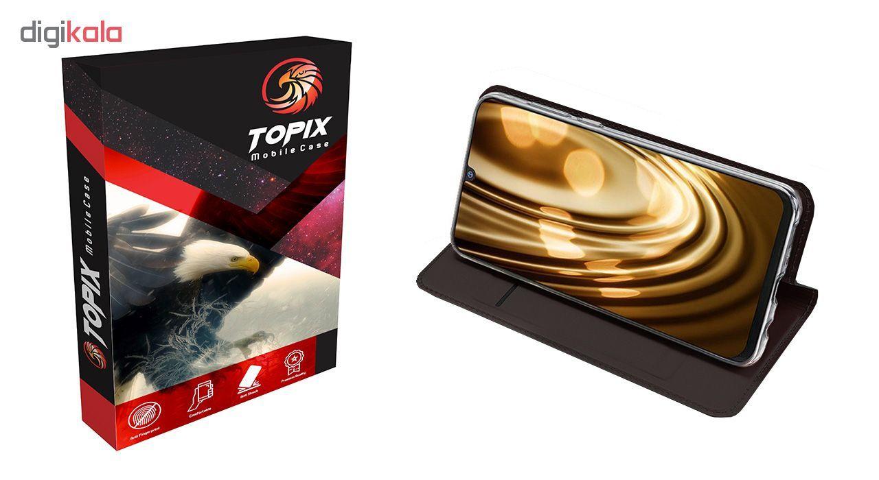 کیف کلاسوری تاپیکس مدل FC-100 مناسب برای گوشی موبایل سامسونگ Galaxy M30 main 1 2