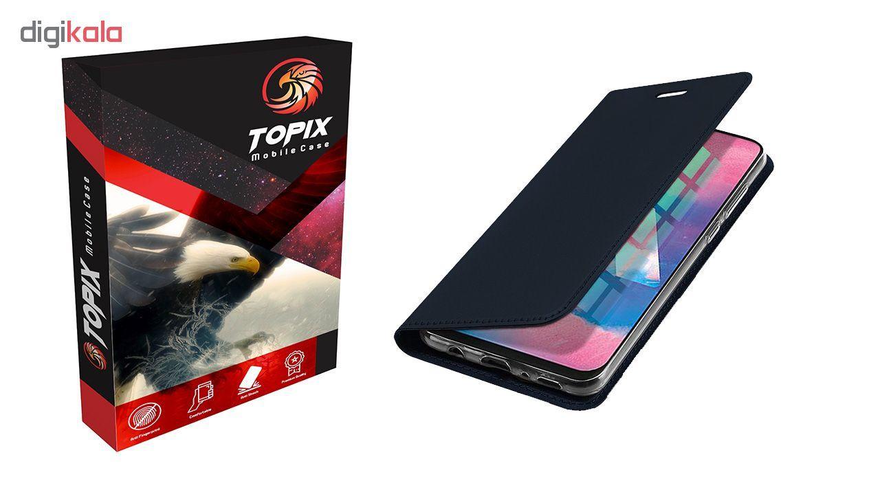 کیف کلاسوری تاپیکس مدل FC-100 مناسب برای گوشی موبایل سامسونگ Galaxy M30 main 1 3