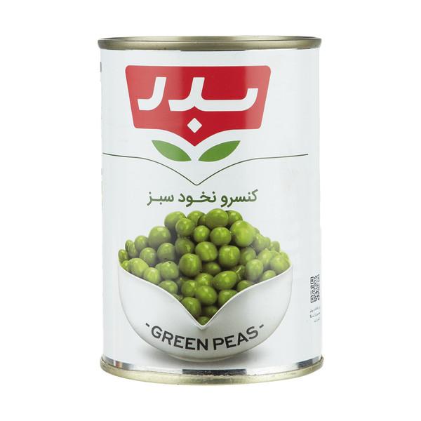 کنسرو نخود سبز بدر - 430 گرم