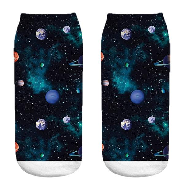 جوراب زنانه طرح کهکشان کد 1042