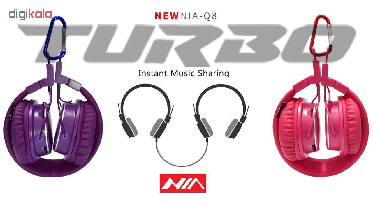 هدفون بی سیم نیا مدل NIA Q8 Turbo main 1 16