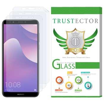 محافظ صفحه نمایش تراستکتور مدل GNF مناسب برای گوشی موبایل هوآوی Y7 Prime 2018 بسته سه عددی