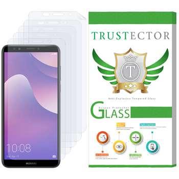 محافظ صفحه نمایش تراستکتور مدل GNF مناسب برای گوشی موبایل هوآوی Y7 Prime 2018 بسته پنج عددی