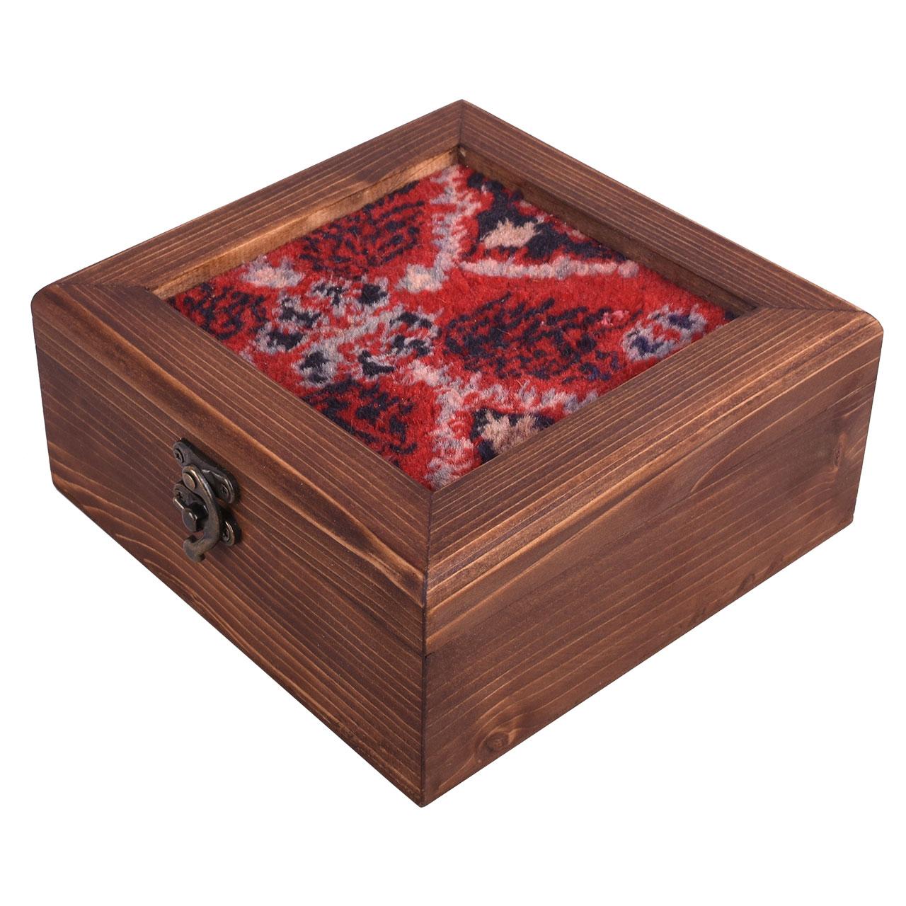 جعبه هدیه طرح فرش لاکی مدل 03-14