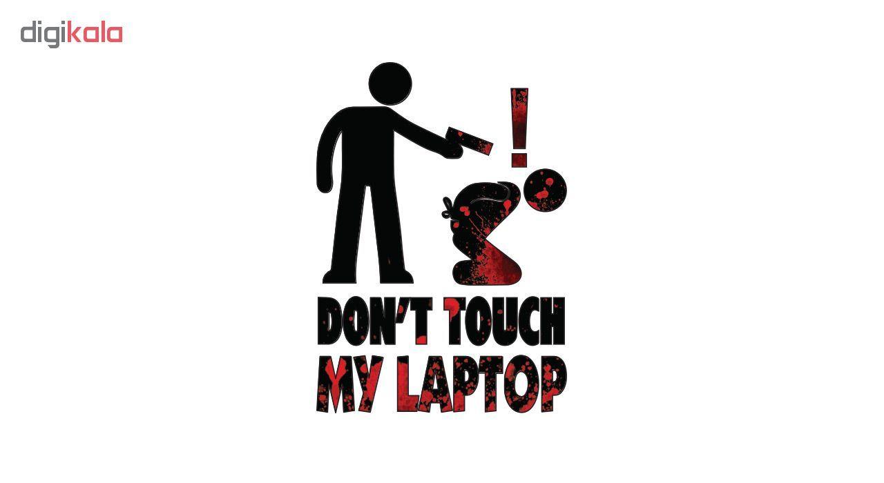 استیکر لپ تاپ طرح  Dont کد ۰۲ main 1 1