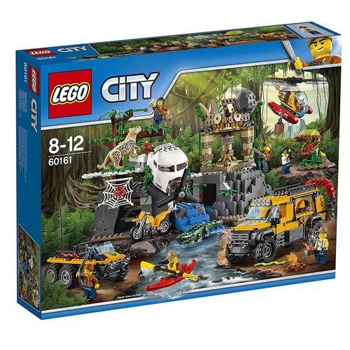 لگو سری City  مدل  Jungle Exploration Site 60161