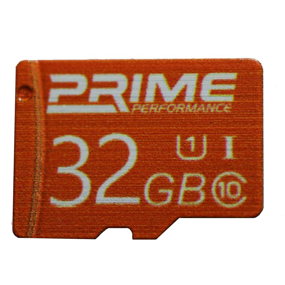 کارت حافظه SDHC پرایم مدل PERFORMANC کلاس 10 استاندارد U1 سرعت  60MBps ظرفیت32 گیگابایت