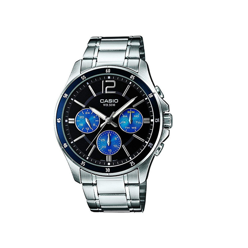 ساعت  کاسیو مدل MTP-1374D-2AVDF