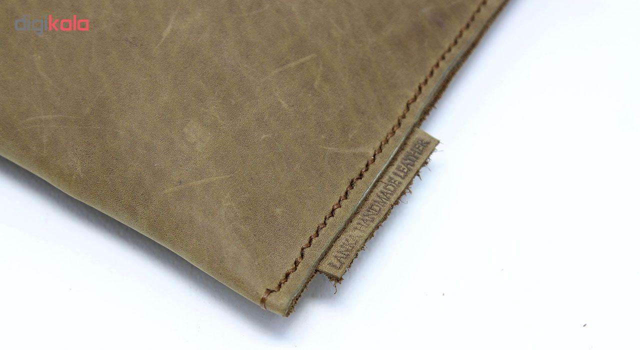 کیف دستی چرم لانکا مدل DL-02-G