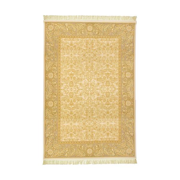 فرش ماشینی عرش طرح یلدا زمینه کرم