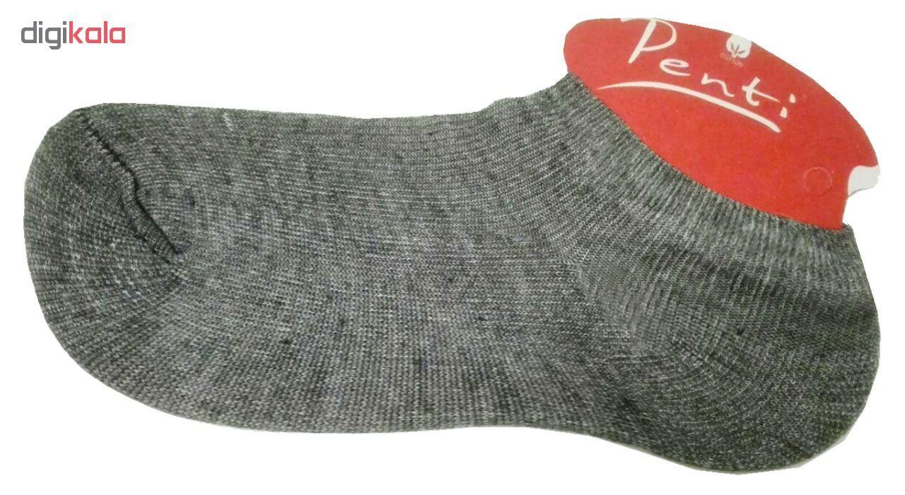 جوراب زنانه پنتی کد 201 بسته 6 عددی main 1 2