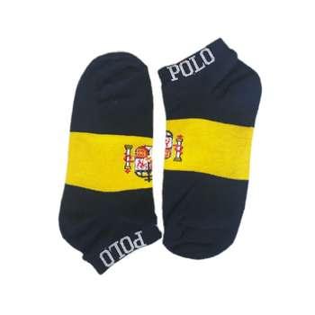 جوراب مردانه طرح پرچم اسپانیا