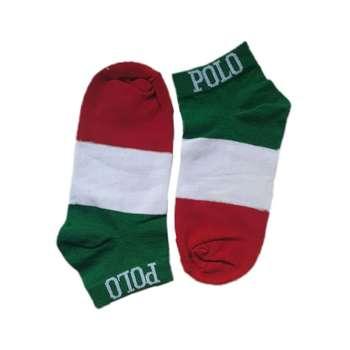 جوراب مردانه طرح پرچم ایتالیا