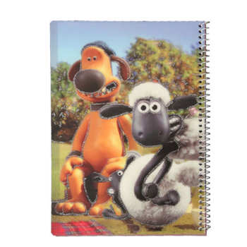 دفتر نقاشی40 برگ طرح گوسفند زبل کد PA9