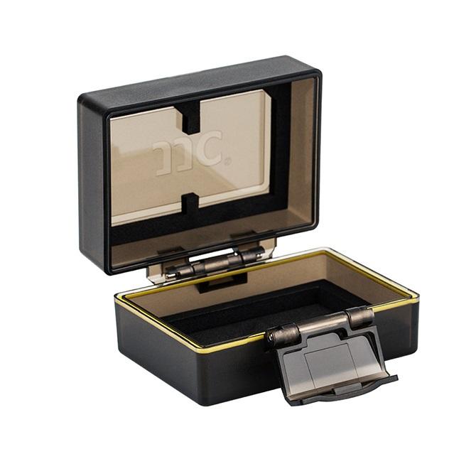بررسی و {خرید با تخفیف}                                     کیف محافظ باتری و کار حافظه جی جی سی مدل BC-2NPFZ100 مناسب برای دوربین سونی FZ100                             اصل