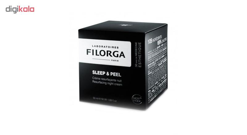 کرم لایه بردار شب فیلورگا مدل Sleep And Peel حجم 50 میلی لیتر