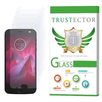 محافظ صفحه نمایش تراستکتور مدل GLS مناسب برای گوشی موبایل موتورولا Moto Z2 Force بسته 5 عددی