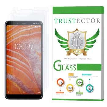 محافظ صفحه نمایش تراستکتور مدل GLS مناسب برای گوشی موبایل نوکیا 3.1 Plus بسته 3 عددی