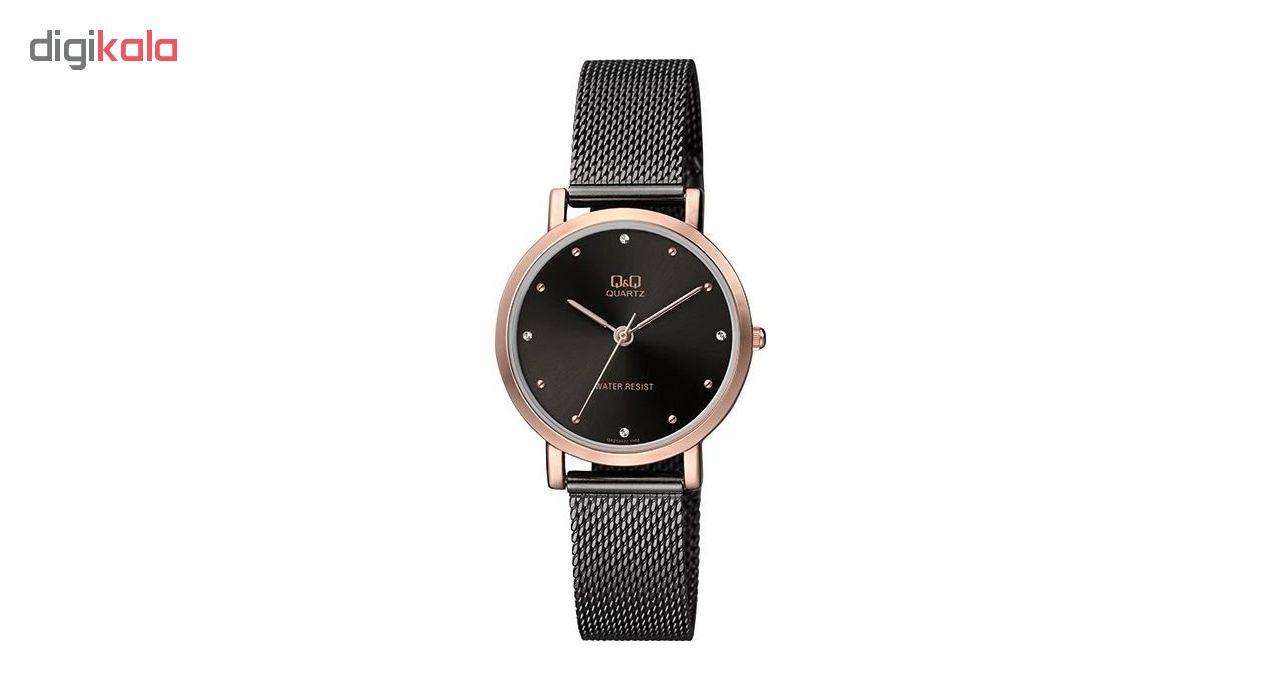ساعت مچی عقربه ای زنانه کیو اند کیو مدل qa21j422y