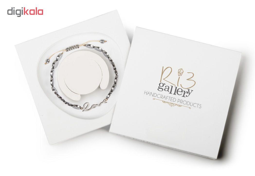 دستبند نقره زنانه ریسه گالری مدل Ri3-H1129
