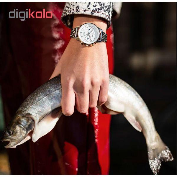 ساعت مچی عقربه ای زنانه تریوا مدل Gleam Nikki