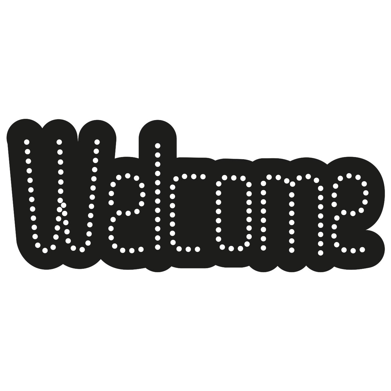 تابلو ال ای دی طرح Welcome کد 10384