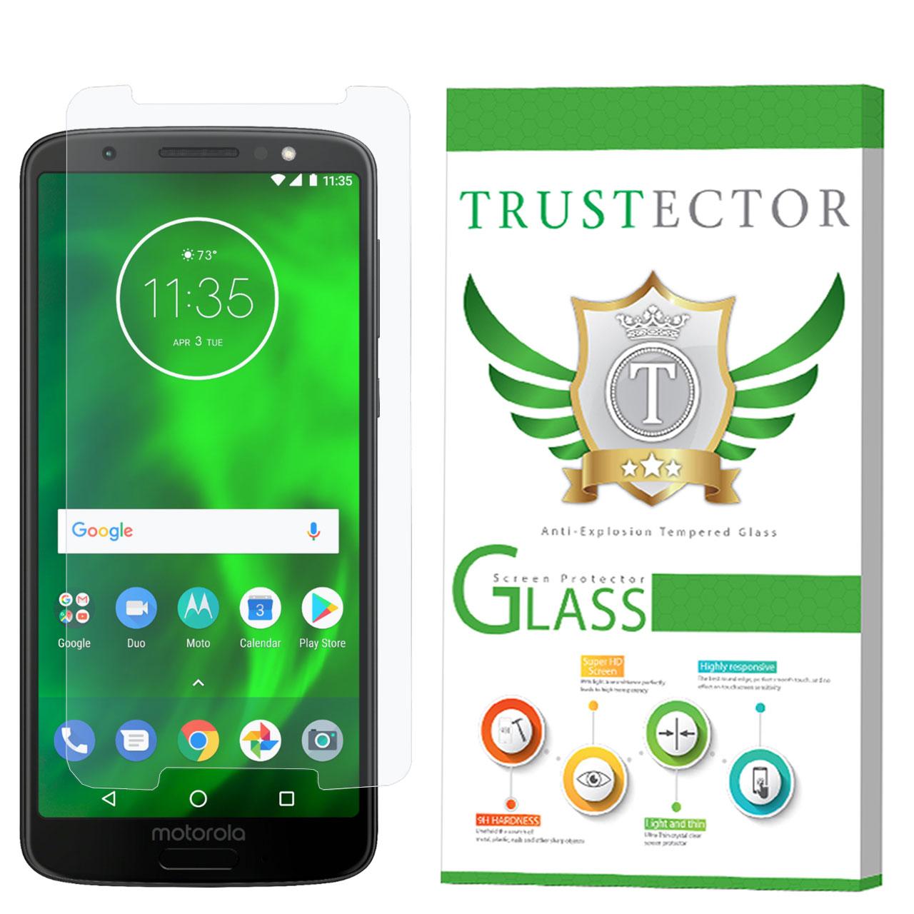 محافظ صفحه نمایش تراستکتور مدل GLS مناسب برای گوشی موبایل موتورولا Moto G6