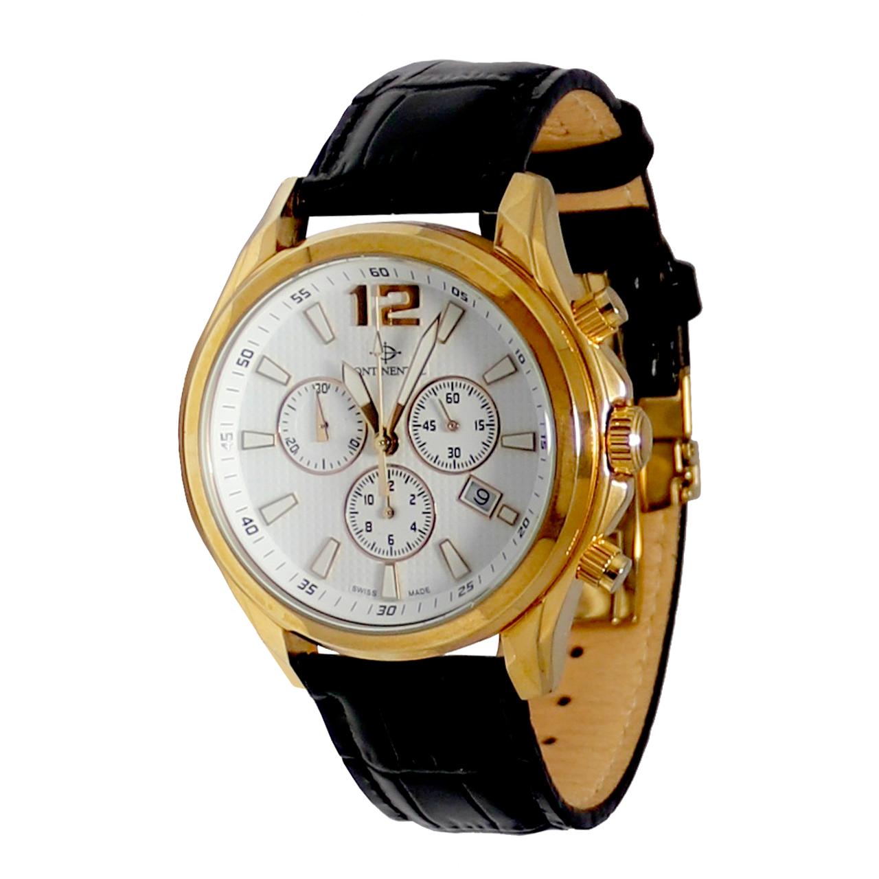 ساعت مچی عقربه ای مردانه کنتیننتال مدل 8629-G157