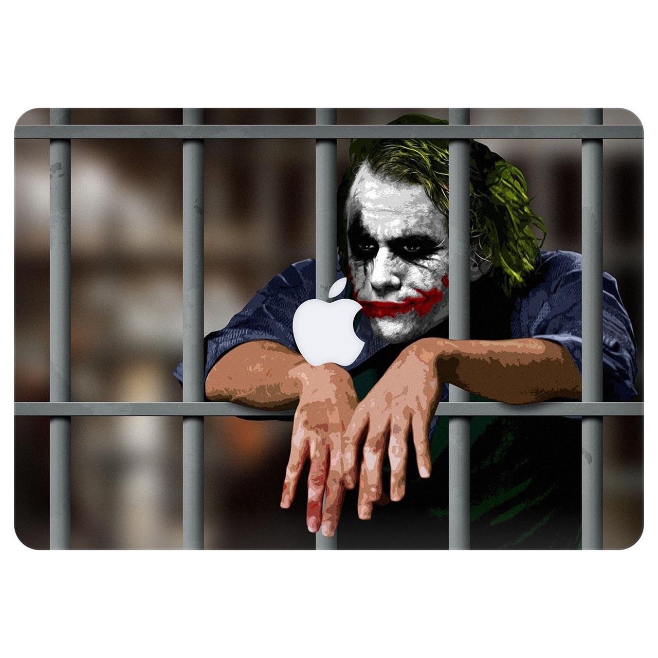 برچسب تزئینی ونسونی مدل Joker In Cell مناسب برای مک بوک ایر 13 اینچی