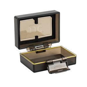 کیف محافظ باتری و کارت حافظه جی جی سی مدل BC-LPE6 مناسب برای دوربین Canon LP-E6