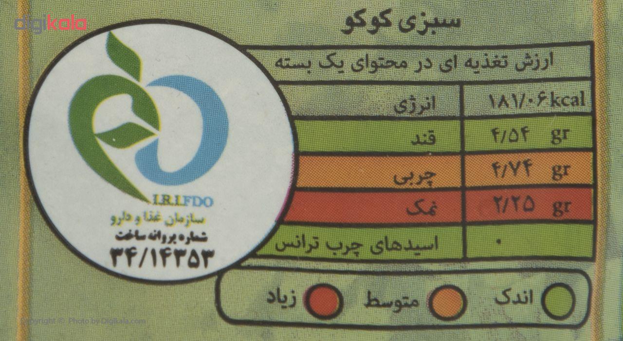 سبزی کوکو خشک سبزان مقدار 100 گرم